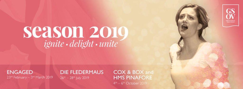Season 2019 ~ Gilbert & Sullivan Opera Victoria