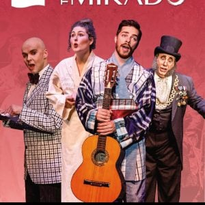 The Mikado 2018 DVD
