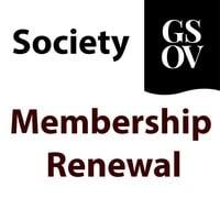 GSOV - Society Membership Renewal