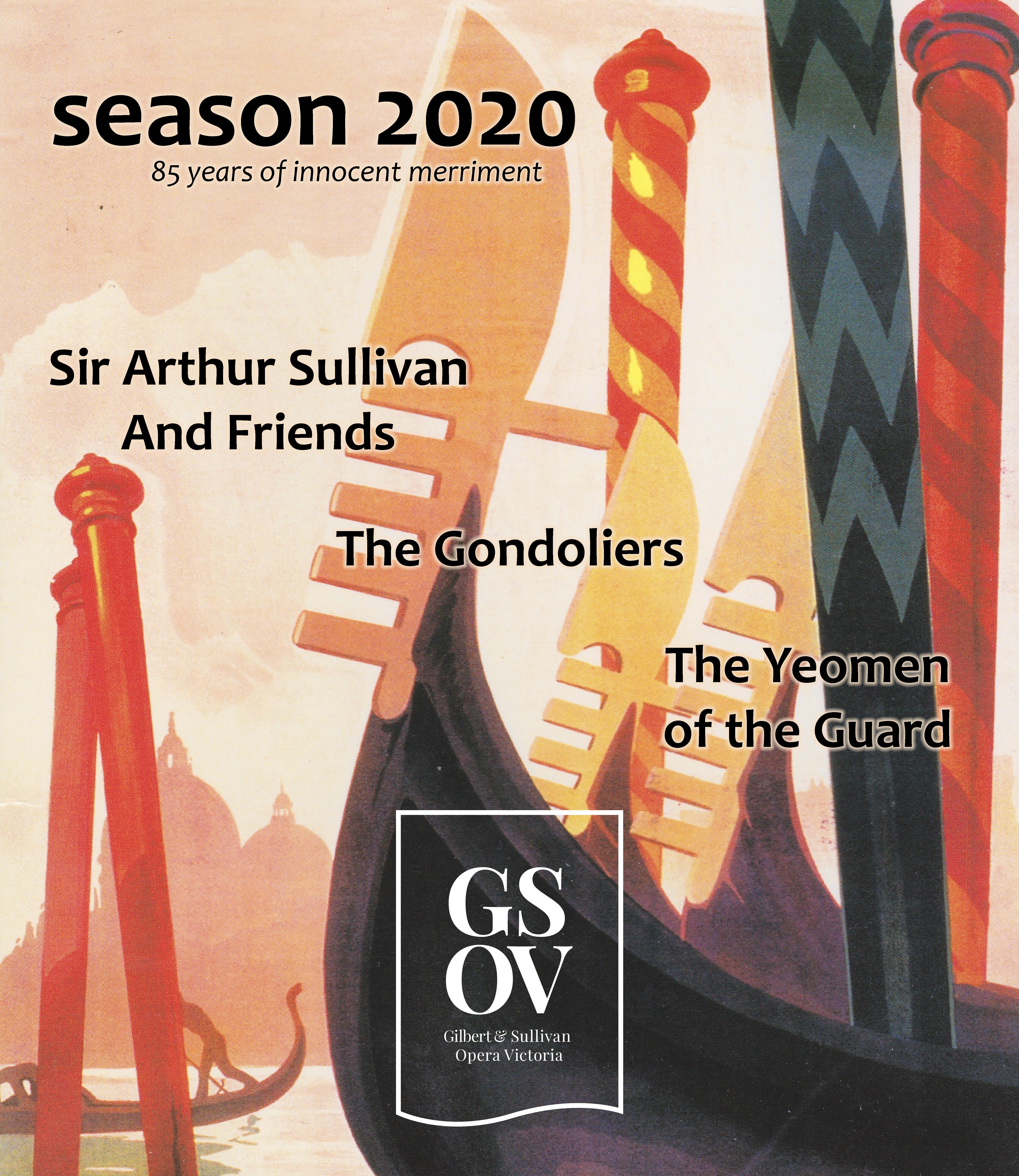 Season 2020 ~ Gilbert & Sullivan Opera Victoria